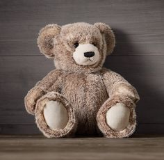 Teddy Bears are possibly the most popular toy on earth. Due to primordial reasons, it seems obvious to us that children need baby bears.