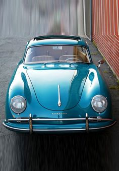 1958 Porsche 356A Coupe Maintenance of old vehicles: the material for new cogs/casters/gears/pads could be cast polyamide which I (Cast polyamide) can produce