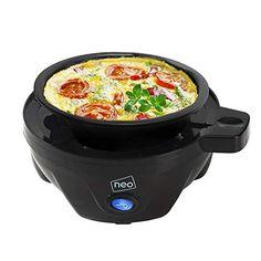 Neo® Clear Electric Egg Cooker Boiler Poacher & Steamer Fits 7 Eggs--13.95 Hard Boiled, Boiled Eggs, Shelf Design, Boiler, Brushed Stainless Steel, Steamer, Kitchen Colour Schemes, Oranges And Lemons