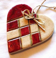 Scandinavian Christmas Tree Ornament by Elin B, via Flickr