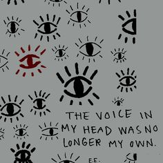The voice in my head was no longer my own. Lily Evans, Gravity Falls, My Demons, Wow Art, Character Aesthetic, Dipper Pines, Just In Case, Decir No, The Voice