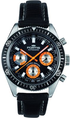 Fortis Watch Aquatis Collection Marinemaster Chronograph Limited Edition D
