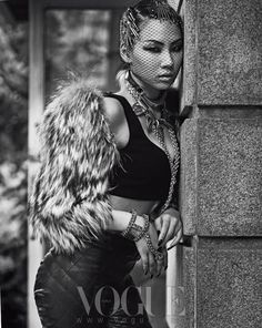 CL ( Lee Chae-rin) ★ 2NE1 for Vogue Korea , July 2013