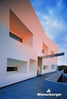 Lumenart - House of Light, Rusan arhitektura © Damir Fabijanić Brick Building, Lighthouse, Facade, House Design, Mansions, House Styles, Pictures, Inspiration, Gallery