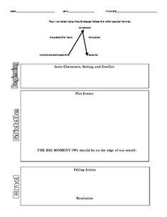Graphic Organizer- Narratives (Intermediate Grades)