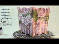 Rosas one stroke con Chalk Paint - YouTube