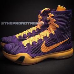 """Nike Kobe 10 Elite """"Lakers"""" First Look - Air 23"""