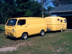 Matching yellow van and 17 ft. scamp?
