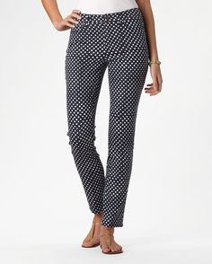 Seeing spots ankle jeans - [K16695]