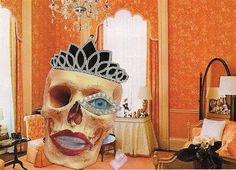 La Tala Bastante  Day Of The Dead Or Halloween ACEO by spidermambo, $5.00