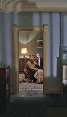 the shining pretty much the strangest scene in the movie