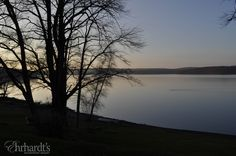 Love these December sunsets on Lake Wallenpaupack!