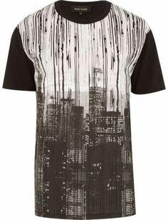 River Island Black New York print t-shirt - That should be mine!