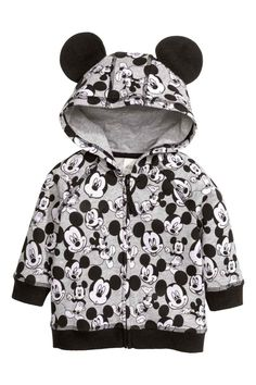Blusão estampado com capuz | H&M