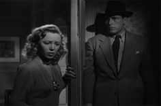 """Born to Kill (1947)  The young lady Lawrence Tierney's character is about to kill is named """"Laurie Palmer"""".  I'm guessing Lynch knew this."""