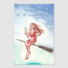 Ut på tur, aldri sur - Björg Thorhallsdottir Wonderwall, Beautiful Drawings, Universe, Photo Illustration