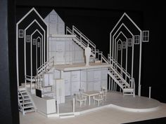 Next to Normal. Model. Scenic Designer David A. Centers.