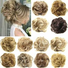 Hair Extension Wrap Messy Hair Bun Curly Ponytail Hairpiece - Walmart.com - Walmart.com Curly Hair Pieces, Messy Curly Hair, Bun Hair Piece, Curly Ponytail, Messy Bun Hairstyles, Cool Hairstyles, Updos Hairstyle, Thick Hair, Hair Pieces Buns