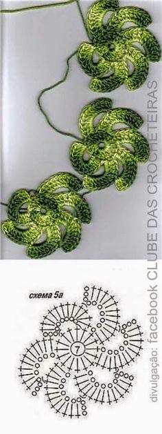 48 Ideas for crochet lace flower pattern ganchillo Art Au Crochet, Crochet Motifs, Crochet Flower Patterns, Freeform Crochet, Crochet Diagram, Crochet Squares, Irish Crochet, Crochet Designs, Crochet Crafts
