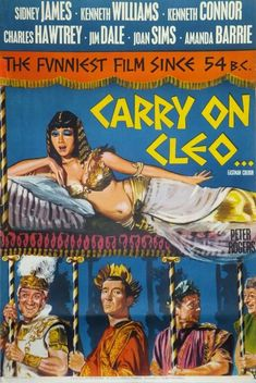 Tom Chantrell Posters | Carry On Cleo UK 1964,