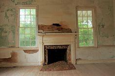 Fireplace | Borden Oaks Plantation
