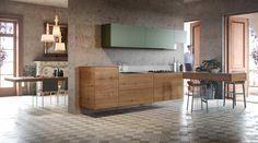 LAGO I Küche 36e8 wildwood (Eiche)