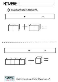 Regletas sumas Math Exercises, Sumo, First Grade, Phonics, Homeschool, Letters, Maths, Preschool Ideas, Sunday School