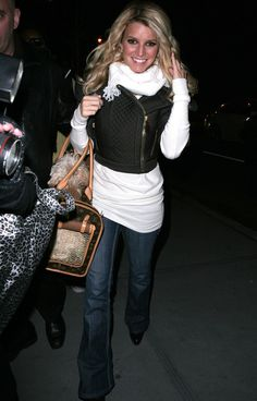 Jessica Simpson - January 2008