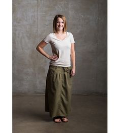 d58088a70c A modest skirt fit for hiking, trekking, wading, and everything else! Khaki