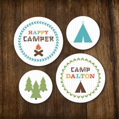 Baby Shower Ideas For Boys | Camping Theme Baby Shower By I Heart To Party