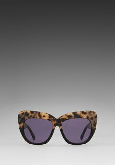 House of Harlow Chelsea Sunglasses in Black Oreo $138.00