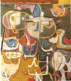 Corneille, Heidense fabel,1949 80x70.jpg