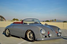 Bid for the chance to own a Porsche Speedster Replica at auction with Bring a Trailer, the home of the best vintage and classic cars online. Porsche Autos, Porsche 356a, New Porsche, Porsche Cars, Porsche Carrera, Jaguar Xk, Jaguar E Type, New Sports Cars, Sport Cars