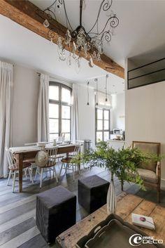 Un appartement rénové en centre ville d'Aix-en-Provence par Nathalie Vingot Mei
