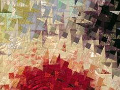 Quilt- love the use of ombre shading, which I am fascinated with right now.  :)
