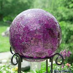 I'm not sure why, but I've always wanted a gazing ball.
