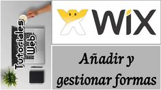 Wix 2017 - Añadir y gestionar formas (español)