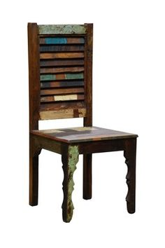 very cool rustic chair