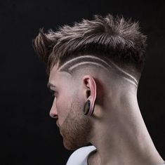 Cabello para hombres, corte hombre, peluquería y belleza, cortes de cabelo, Hairstyles Haircuts, Haircuts For Men, Haircut Men, Updos Hairstyle, Haircut Designs For Men, Gents Hair Style, Style Hair, Hair And Beard Styles, Hair Styles