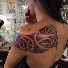 Ta moko cloak tattoo