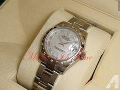 Rolex Datejust 31mm Stainless Steel White MOP Diamond VI Roman