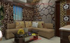 Kolkata Interior Designer who does living room interior designing and decoration work in Kolkata as per customer's request. Here Kolkata customers can be creating living room interior design and decoration according to their living room sizes.