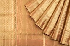 Kanchipuram Silk Brocade Gold Saree - Wedding - Occasion | Kankatala