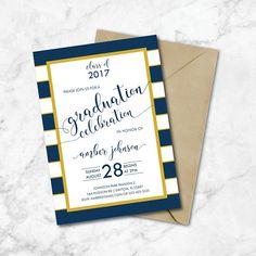 Chalkboard Graduation Thank You Card Thank You Graduation Card