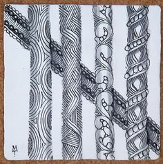 Zentangle~Maria Thomas