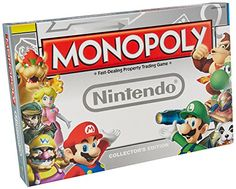 Includes (1) Nintendo Monopoly Game....