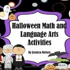 This packages contains 31 Halloween themed math and language arts activities these activities include:  Halloween Math Activities: 1. Halloween Add...