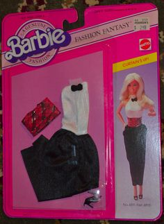 Barbie Fashion Fantasy Curtain's Up No 4811 Asst 4818 Unopened | eBay