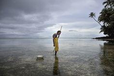 Climate change, Papua New Guinea, Bougainville by Kadir van Lohuizen Art For Change, Rinko Kawauchi, Michael Wolf, Stephen Shore, William Eggleston, Sea Level, Papua New Guinea, Global Warming, Photojournalism