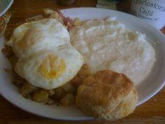 Southern breakfast.